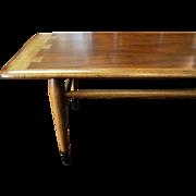 Lane Mid Century Modern Acclaim Dovetail Coffee Table