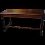 Vintage Mahogany Piano or Organ Bench with Lift Lid