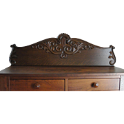 Decorative Furniture Crown Pediment with Hand Carving