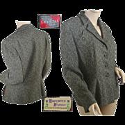 1950's Women's Tweed Business Suit Jacket
