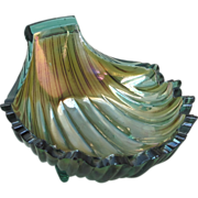 SOLD Vintage Westmoreland Carnival Glass Shell