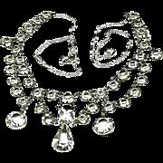 SALE CLASSIC Festoon PRINCESS' Draping Necklace 'Every Girls Dream' c.1940's