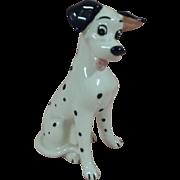 SALE Vintage Disney 101 Dalamation Porcelain Figurine