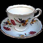SALE COLCLOUGH Made in England Teacup-Saucer
