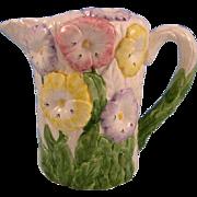 SALE Beautiful World Bazaar Pastel Flowered Pitcher