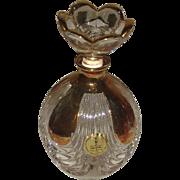 REDUCED Beautiful Vintage Crystal Perfume Bottle