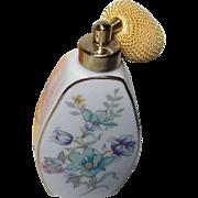 Vintage Irice Atomizer Flower Perfume Bottle