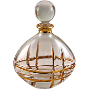 Gorgeous Vintage Royal Galley made in Itlay Perfume Bottle