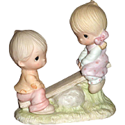 1978 Precious Moments Figurine Called Love Lifted Me