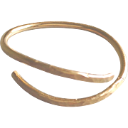 Open Band Ring in 14k Gold Fill or Sterling Silver, Any Size