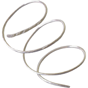 Thumb Ring Shown Sterling Silver, Any Size, Also Made with 14k Gold Fill