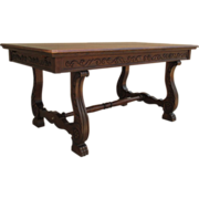SALE PENDING French Antique Dining Table Desk Table Antique Furniture!