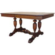 SOLD American Antique Walnut Dining Table Antique Furniture