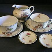 "8 Piece Group of Syracuse ""Rosyln"" Pattern Dinnerware"