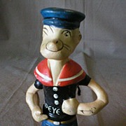 "Toothbrush Holder ""Popeye The Sailor Man"""