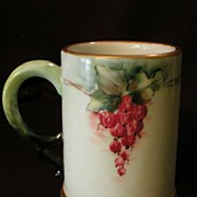Rosenthal Hand-Painted Porcelain Stein w/Currant Design
