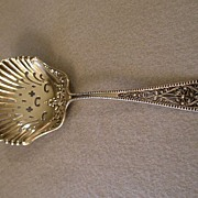 "Watson & Newell Co Sterling Silver ""Filigree Handle"" Powdered Sugar Sifter"
