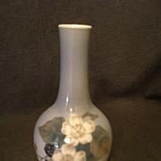 """Royal Copenhagen """"Blackberry Fruit & Flowers"""" Pattern Vase"""