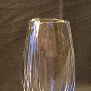 "Baccarat Crystal ""Bouton D'Or"" or ""Buttercup"" Vase"