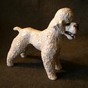 """Rosenthal Porcelain Figurine """"Gray Poodle"""" #5063"""