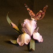 "Lenox ""Natures' Beautiful Butterflies Collection - American Painted Lady""  Sculpture"