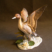 "Lenox ""Porcelain Ducks - Pin-tail Duck"" Sculpture"