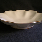 "Charles Haviland & Co. Limoges ""Silver Anniversary"" Round Open Serving Bowl w/Flat B"