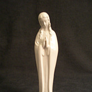 "SOLD Goebel White ""Praying Madonna"" -  HM 58 2/10 - TMK-3 Mark"