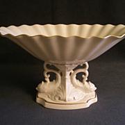 "SOLD Lenox ""Aquarius Collection"" Centerpiece Compote w/Pedestal Dolphin Base"