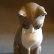 "Bing & Grondahl Porcelain ""Cat"" Figurine #1876"