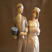 "Lladro ""Wedding"" Porcelain Sculpture  #1404"
