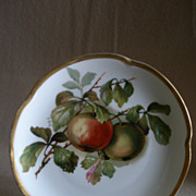 "Jaeger & Co Porcelain ""Fruit Motif"" Cabinet Plate - Signed A Koch"