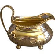 English Georgian Era Sterling Silver Cream Jug, Circa 1820