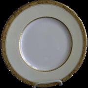 Set of 4 Royal Worcester Gold Encrusted 'Diana' Pattern Dinner Plates - Burley & Co. Chicago