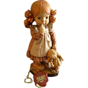 """Anri of Italy """"Bedtime""""Limited Carving 1112/4000 by Sarah Kay"""