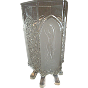 EAPG - Gillinder & Sons 'Classic' Pattern Footed Celery Vase