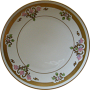 """Pickard Studio Hand Painted Cabinet Plate """"Russian Flowers"""" Series Floral Motif"""