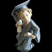 "Lladro ""Going Forth"" Porcelain Sculpture #6772"