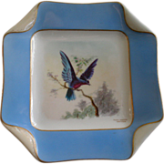 1 of 5 Haviland & Co. Limoges Hand Painted Bird Plates, Circa 1880's