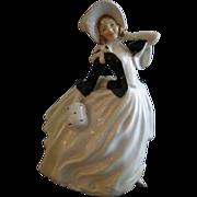 "Royal Doulton ""Autumn Breezes"" Figurine HN 2147 by Leslie Harradine"