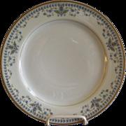 "Haviland & Co. Limoges Arts & Crafts ""English Oatmeal"" Pattern - Set of 6 Sa"