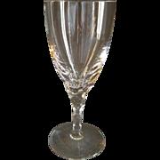 Orrefors Cut Crystal 'Carina' Pattern Wine Glasses - Set of 4