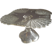 SOLD EAPG - George Duncan & Sons Co - Clear 'Shell & Tassel' Pedestal Cake Stand