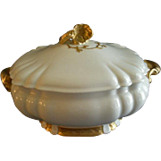Charles Haviland & Co. Limoges Covered Oyster Tureen - Henri II, Schleiger #10 Blank - Circa .