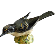 "Beswick Pottery ""Gray Wagtail #1041"" Bird Figurine - First Version"