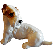 "Royal Doulton ""Dogs of Character Series"" Sealyham Terrier, Seated Position - H. N. 2"