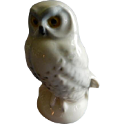 Goebel White Snow Owl Bird Figurine