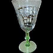 Weston Glass Company - Set of 5 Goblets - Pattern 905-2