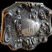"Forbes Silver Co ""Art Nouveau"" Motif Dresser Box"