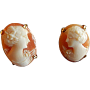 AMCO Cameo Pierced-Style Earrings